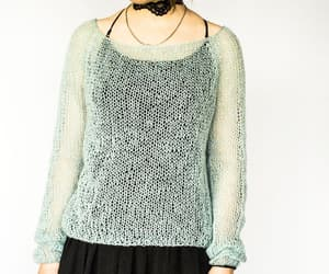 etsy, cropped sweater, and soft grunge image
