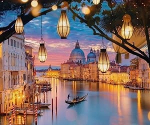 venice, light, and travel image