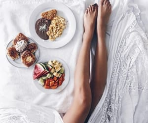 yummy, bed, and breakfast image