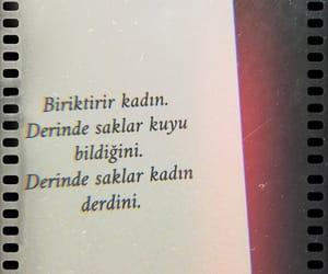 kadın, alıntı, and türkçe sözler image
