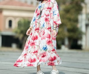 etsy, long dress, and robes image