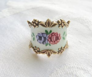 etsy, vintage ring, and sterling ring image