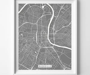 etsy, livingroom, and map print image