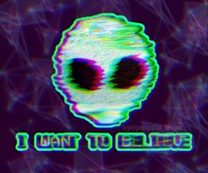 aesthetic, alien, and background image