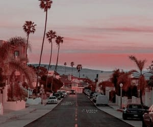 travel, city, and sunset image