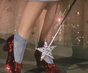 dorothy, Wizard of oz, and ruby red slippers image