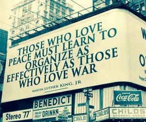 peace, war, and quote image