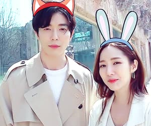 couple, kim jaewook, and her private life image