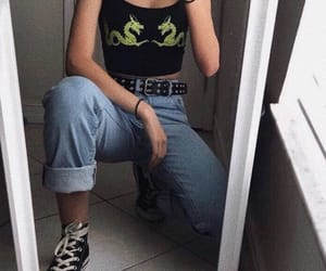 grunge, clothes, and fashion image