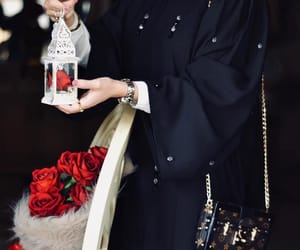 hijab, islam, and vuitton image