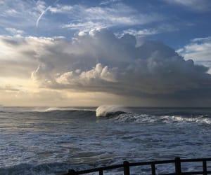 sea, sky, and blue image