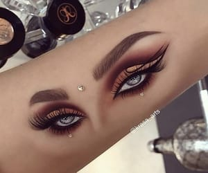 beauty, creative, and eyebrows image