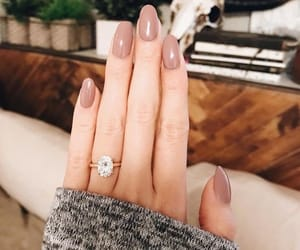 ring, engagement, and fashion image