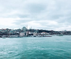city, istanbul, and mosque image