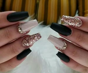 girls, nails, and goals image
