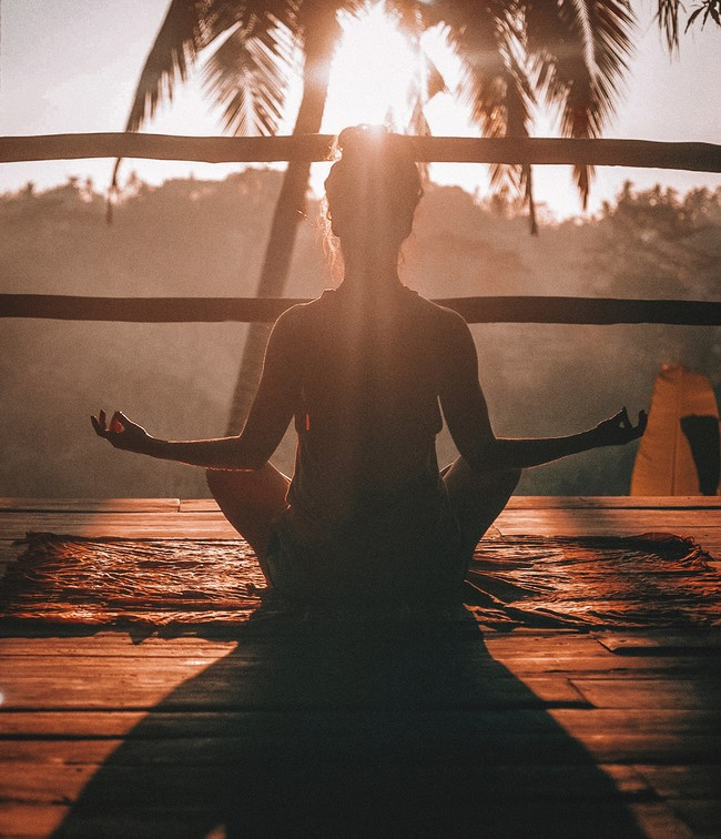 peace, meditation, and yoga image