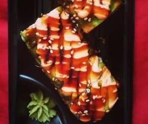 avocado, crab, and food image