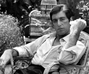 al pacino, movie, and The Godfather image