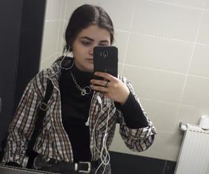 black, metal, and fashion image