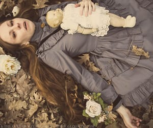 creepy, doll, and victorian image