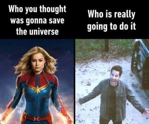 Marvel, meme, and captain marvel image