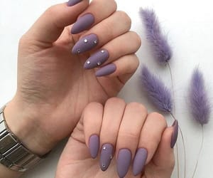 nails, beauty, and moda image