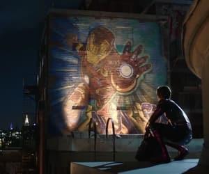 iron man, Marvel, and spiderman image