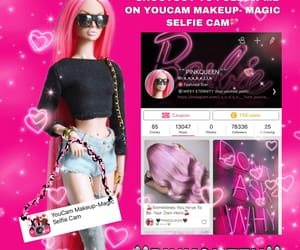pinkqueen and youcam make-up magic image