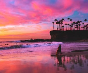 beautiful, colorful, and sunset image