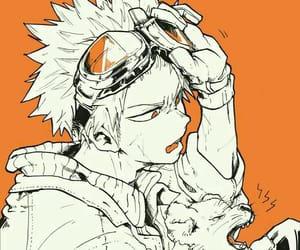 boku no hero academia, anime, and art image
