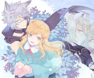 otome game and anime art image
