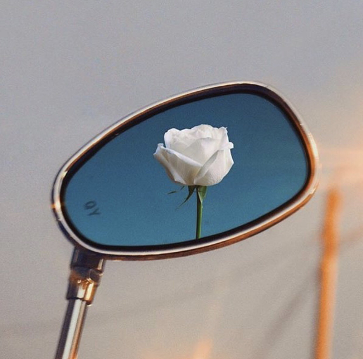 blue, indie, and mirror image