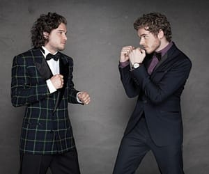 game of thrones, richard madden, and jon snow image