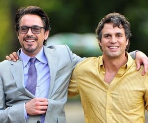 mark ruffalo, robert downey jr, and Hulk image