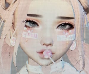 imvu, pink, and soft image
