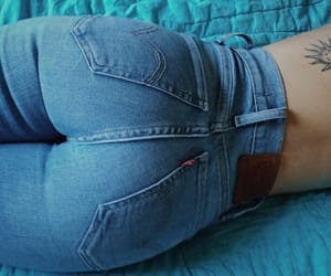 fashion, girl, and levis image