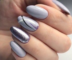 beauty, glitter, and lila image