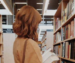 bibliophile, books, and library image
