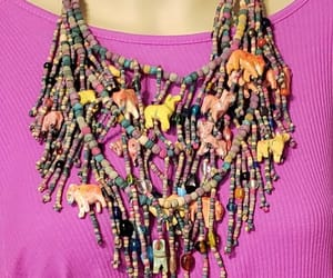 etsy, summer necklace, and tribal necklace image