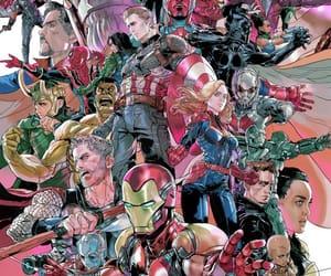 Avengers, black widow, and bucky image
