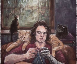 art, barnes, and bucky image