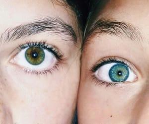 beautiful, eye, and friend image