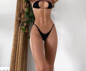 bikini, fitness, and goals image