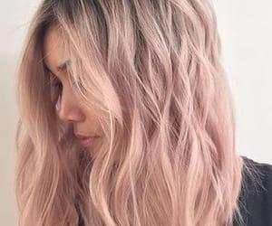 braids, pink, and bun image