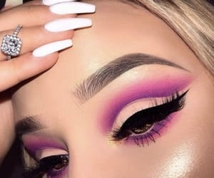 makeup, beauty, and cool image