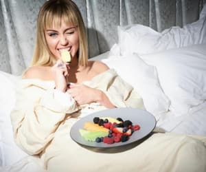 miley cyrus and fruit image