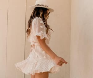 boho, fashion, and hat image