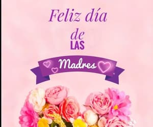 amor, flores, and happy mothers day image