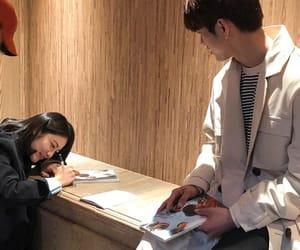 JYP, jinyoung, and shin yeeun image