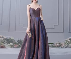 beauty, party dress, and dresses image